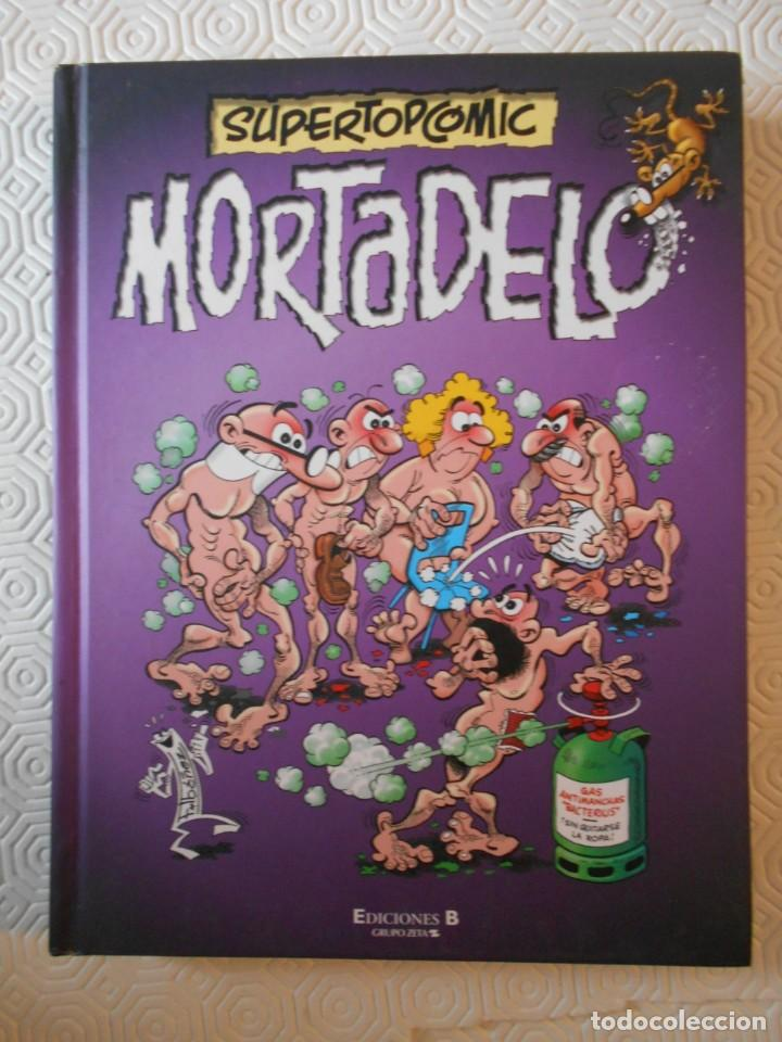 MORTADELO. SUPERTOPCOMIC. Nº 2. EDICIONES B, GRUPO Z. AÑO 2009. TAPA DURA. COLOR. 207 PAGINAS. 670 G (Tebeos y Comics - Ediciones B - Humor)