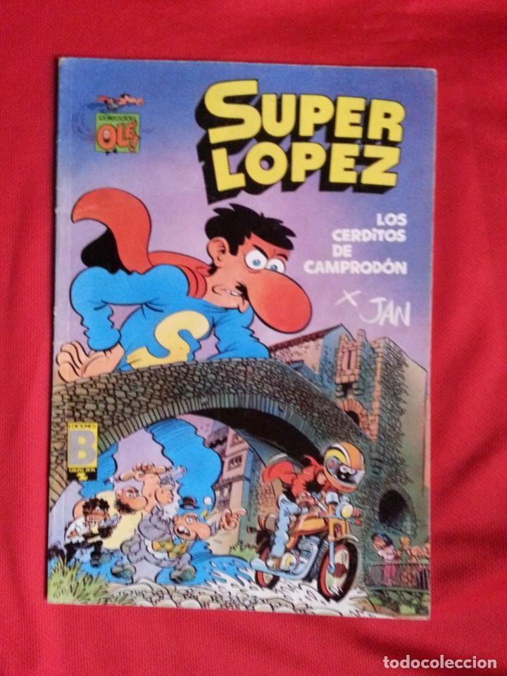 LOS CERDITOS DE CAMPRODON - SUPER LOPEZ - COLECCION OLE S.L. 16 (Tebeos y Comics - Ediciones B - Humor)