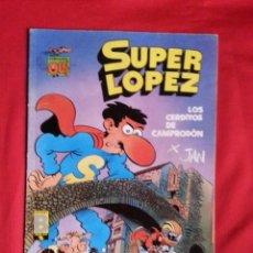Comics : LOS CERDITOS DE CAMPRODON - SUPER LOPEZ - COLECCION OLE S.L. 16. Lote 237265690