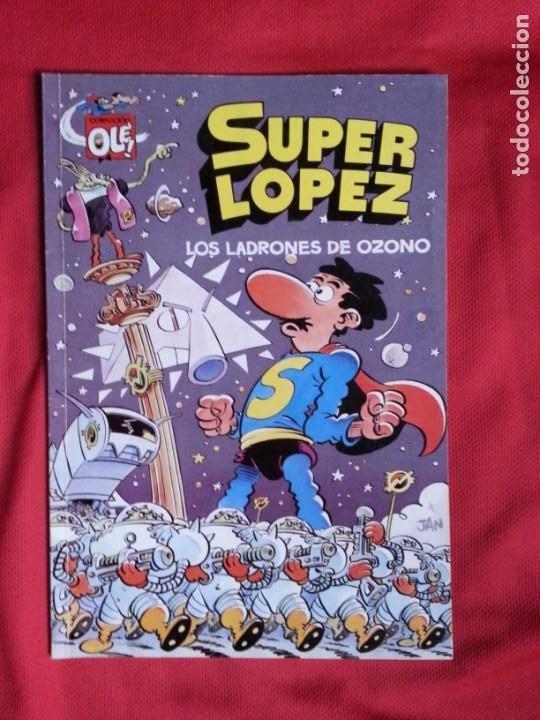 LOS LADRONES DE OZONO - SUPER LOPEZ - COLECCION OLE S.L. 22 (Tebeos y Comics - Ediciones B - Humor)
