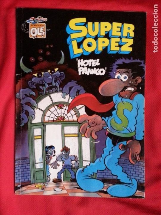 HOTEL PANICO - SUPER LOPEZ - COLECCION OLE S.L. 19 (Tebeos y Comics - Ediciones B - Humor)