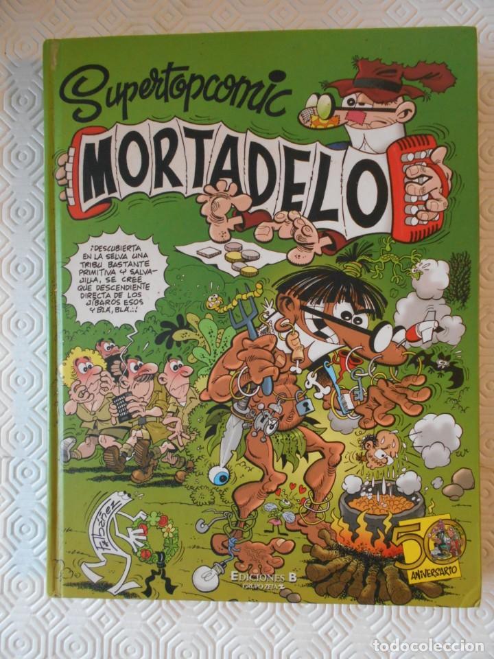 MORTADELO. SUPERTOPCOMIC. Nº 10. FRANCISCO IBAÑEZ. EDICIONES B, GRUPO Z. 2008. TAPA DURA. 207 PAGINA (Tebeos y Comics - Ediciones B - Humor)