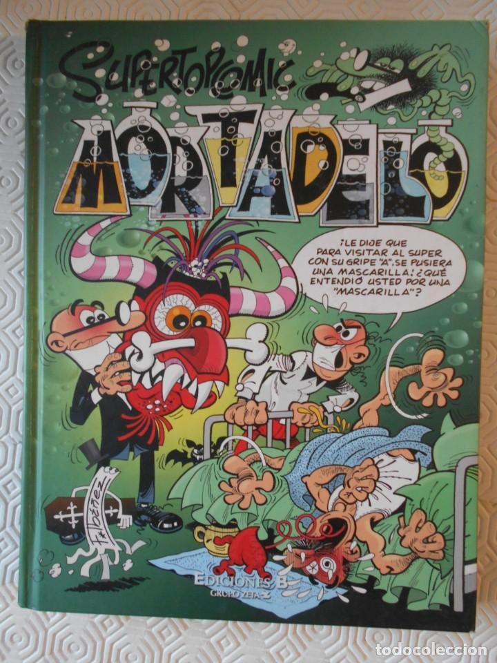 MORTADELO. SUPERTOPCOMIC. Nº 13. FRANCISCO IBAÑEZ. EDICIONES B, GRUPO Z. 2010. TAPA DURA. 207 PAGINA (Tebeos y Comics - Ediciones B - Humor)