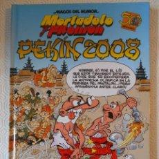 Cómics: MORTADELO Y FILEMON. PEKIN 2008. FRANCISCO IBAÑEZ. MAGOS DEL HUMOR 123. EDICIONES B, 2008. TAPA DURA. Lote 237270000