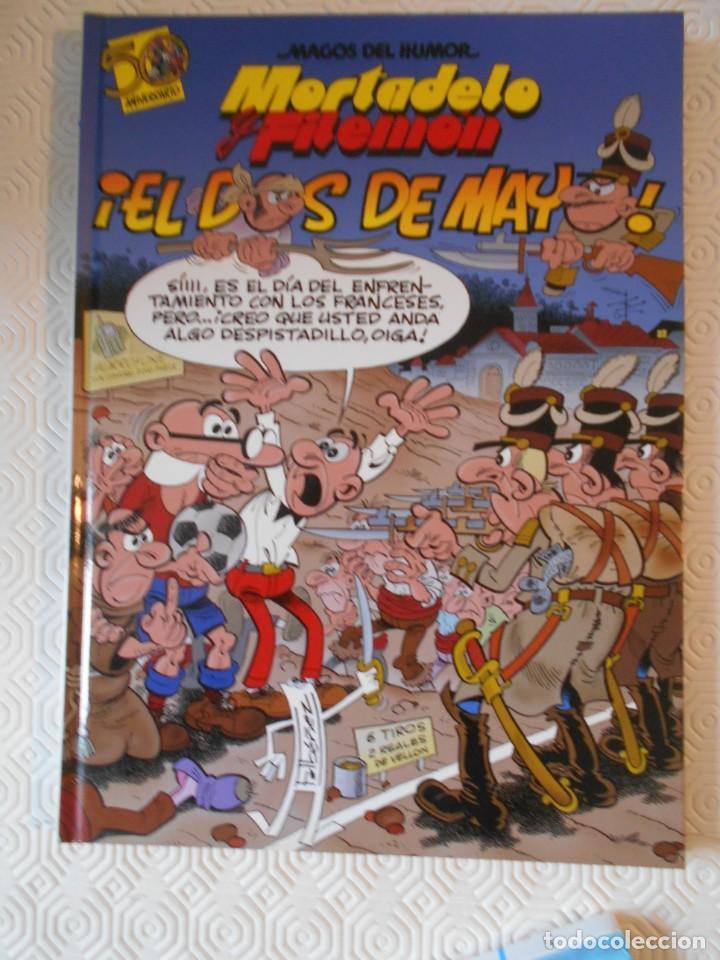 MORTADELO Y FILEMON. EL DOS DE MAYO. FRANCISCO IBAÑEZ. MAGOS DEL HUMOR 122. EDICIONES B. 2008. TAPA (Tebeos y Comics - Ediciones B - Humor)
