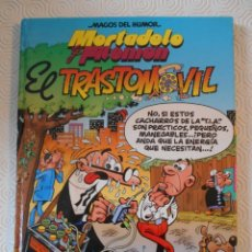 Cómics: MORTADELO Y FILEMON.EL TRASTOMOVIL. FRANCISCO IBAÑEZ. MAGOS DEL HUMOR 69. EDICIONES B. 1996. TAPA DU. Lote 237270745
