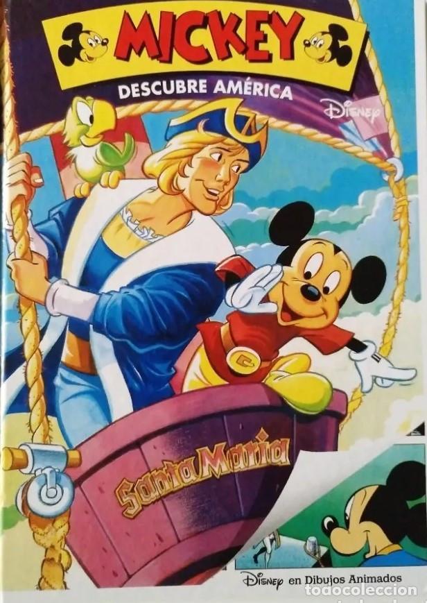 MICKEY DESCUBRE AMÉRICA (Tebeos y Comics - Ediciones B - Otros)