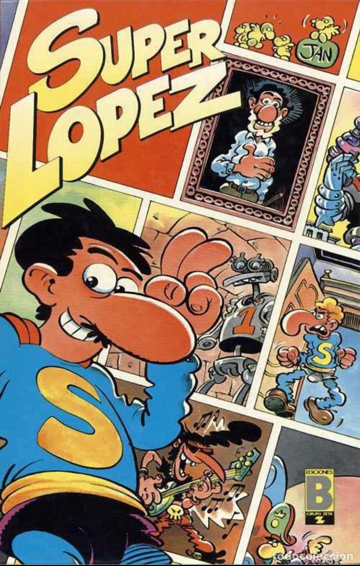 SÚPER LÓPEZ - SUPER HUMOR 3 (Tebeos y Comics - Ediciones B - Humor)