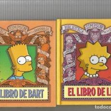 Cómics: LOTE 5 LIBROS LOS SIMPSON EDICIONES B. Lote 237333450