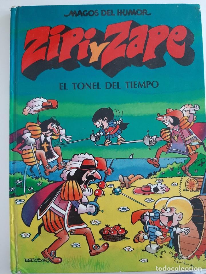 ZIPI Y ZAPE J.ESCOBAR EL TONEL DEL TIEMPO (MAGOS DEL HUMOR 14) (Tebeos y Comics - Ediciones B - Humor)
