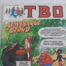 Cómics: TBO N°105 ALMANAQUE DE OTOÑO. Lote 237458990