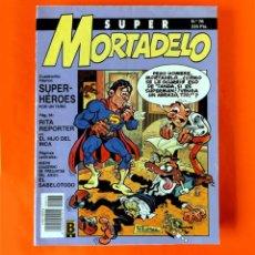 Cómics: SUPER MORTADELO - Nº 76 - SUPER-HÉROES - EDICIONES B - 1987 - ORIGINAL -. Lote 237481500