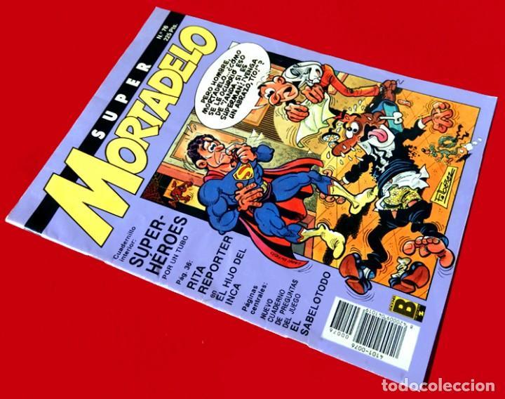 Cómics: SUPER MORTADELO - Nº 76 - SUPER-HÉROES - EDICIONES B - 1987 - ORIGINAL - - Foto 2 - 237481500