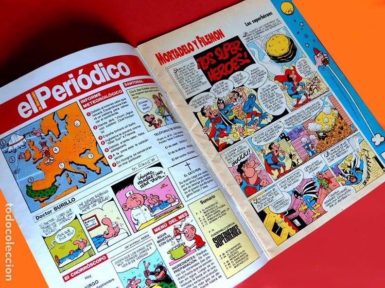 Cómics: SUPER MORTADELO - Nº 76 - SUPER-HÉROES - EDICIONES B - 1987 - ORIGINAL - - Foto 3 - 237481500