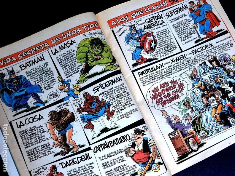 Cómics: SUPER MORTADELO - Nº 76 - SUPER-HÉROES - EDICIONES B - 1987 - ORIGINAL - - Foto 6 - 237481500