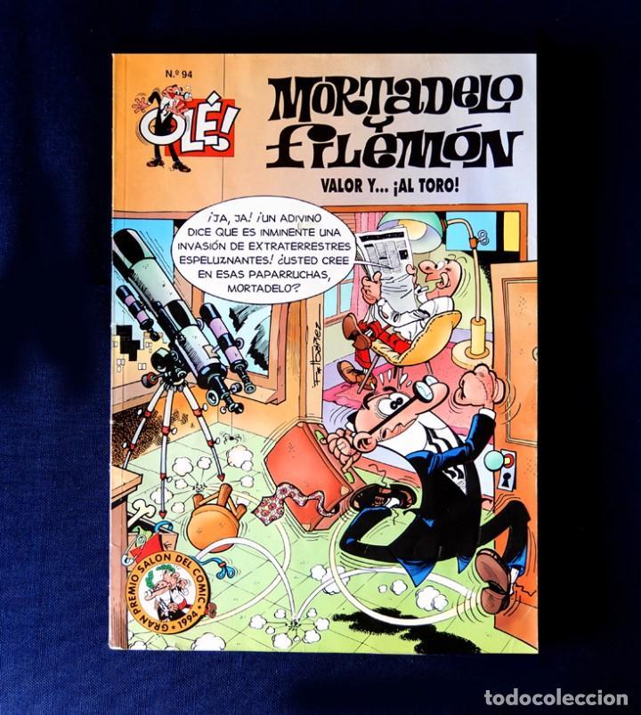 OLÉ Nº 94 - MORTADELO Y FILEMÓN - EDICIONES B - 1ª EDICIÓN 1995 - F. IBÁÑEZ - ORIGINAL - (Tebeos y Comics - Ediciones B - Humor)
