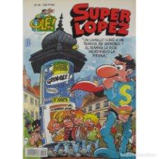 Cómics: SUPER LOPEZ Nº 20 UN CAMELLO SUBIÓ A UN TRANVIA 1ª EDICION 1993 PORTADA RELIEVE EXCELENTE ESTADO. Lote 237503175