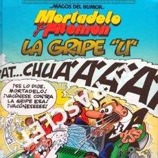 """Cómics: MORTADELO Y FILEMÓN - LA GRIPE """"U"""" -EDICIONES B,S.A. 1ª EDICIÓN 2010. Lote 238097930"""