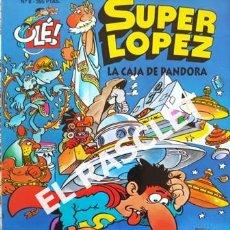 Cómics: SUPER LOPEZ ´- LA CAJA DE PANDORA - EDICIONES B, S.A.. Lote 238103260