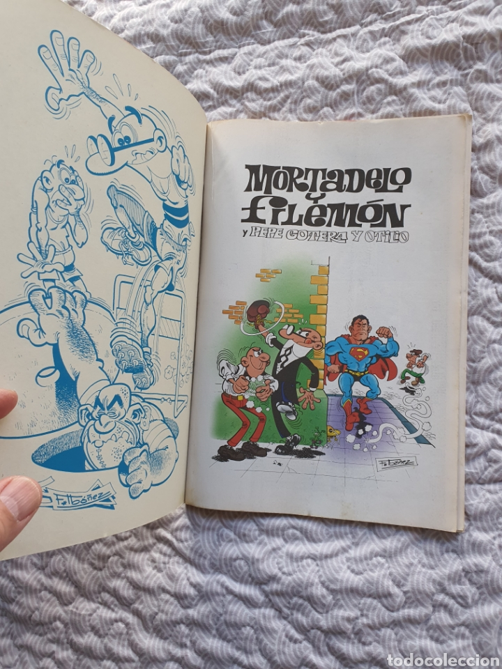 Cómics: Ole número 126 , Mortadelo y Filemón, Reyes de la risa - Foto 3 - 238200725