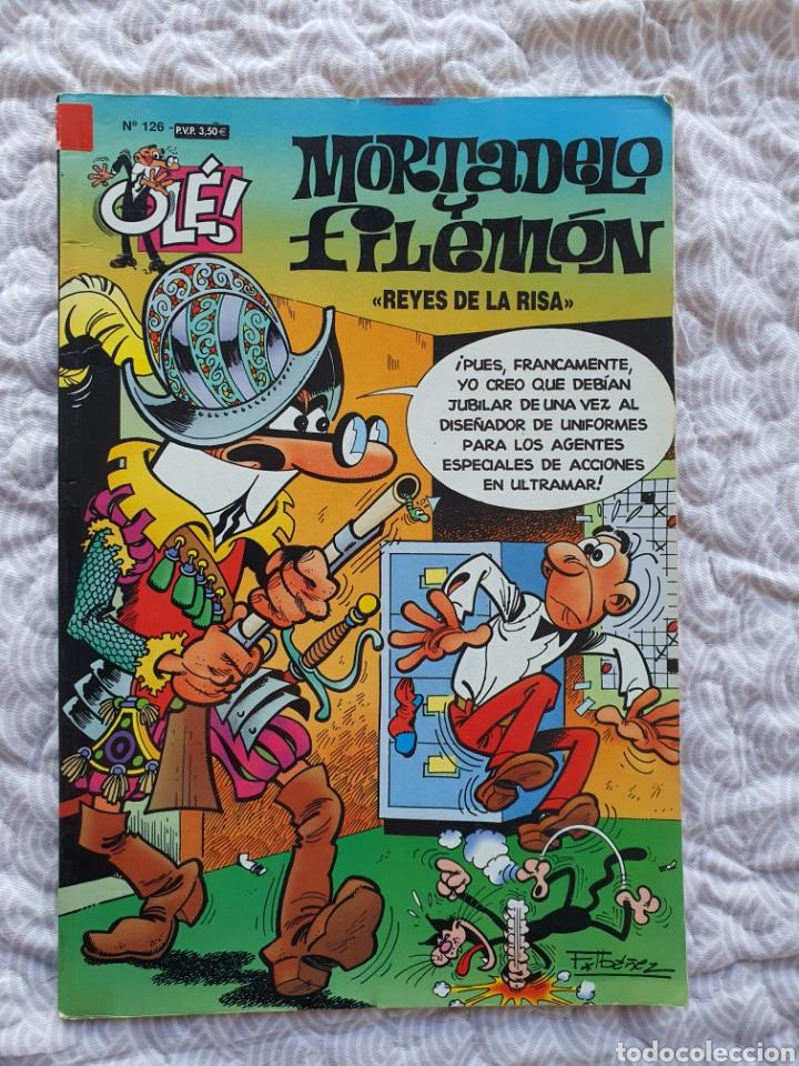 OLE NÚMERO 126 , MORTADELO Y FILEMÓN, REYES DE LA RISA (Tebeos y Comics - Ediciones B - Humor)
