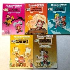 Cómics: EL PEQUEÑO SPIROU / TOME & JANRY / OLÉ Nº: 1, 2, 3, 5 Y 6 /. Lote 238204140