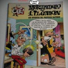 Cómics: OLÉ! Nº 104, MORTADELO Y FILEMON, LOS INVENTOS DEL PROFESOR, 1ª EDICIÓN, B, FORMATO GRANDE, OFERTA!!. Lote 238806960