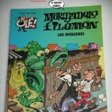 Cómics: OLÉ! Nº 69, MORTADELO Y FILEMON, LOS INVASORES, 1ª EDICIÓN, ED B, FORMATO GRANDE, OFERTA!!. Lote 238810095