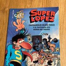 Comics : SUPER LOPEZ OLE Nº 11. 1ª EDICION RELIEVE 1995, EDICIONES B. NUEVO. Lote 238849225