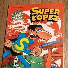 Cómics: SUPER LOPEZ OLE Nº 18. 1ª EDICION RELIEVE 1993, EDICIONES B. NUEVO. Lote 238850740