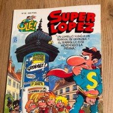 Cómics: SUPER LOPEZ OLE Nº 20. 1ª EDICION RELIEVE 1993, EDICIONES B. NUEVO. Lote 238870350