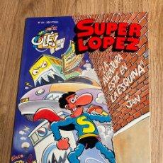 Cómics: SUPER LOPEZ OLE Nº 24. 1ª EDICION RELIEVE 1993, EDICIONES B. NUEVO. Lote 238870770
