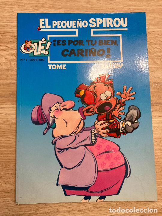 EL PEQUEÑO SPIROU Nº 4. TAPA BLANDA. EDICIONES B 1996 (Tebeos y Comics - Ediciones B - Humor)