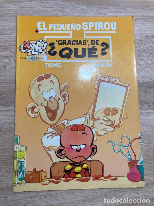 EL PEQUEÑO SPIROU Nº 5. TAPA BLANDA. EDICIONES B 1996 (Tebeos y Comics - Ediciones B - Humor)