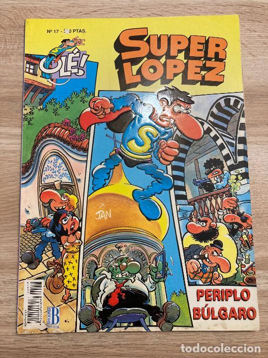 COLECCION OLE SUPER LOPEZ RELIEVE Nº 17. EDICIONES B 1ª EDICION 1993 (Tebeos y Comics - Ediciones B - Humor)