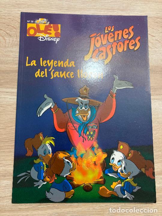 COLECCION OLE DISNEY Nº 38 LOS JOVENES CASTORES. EDICIONES B 1ª EDICION 1997 (Tebeos y Comics - Ediciones B - Humor)