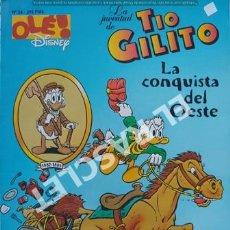 Cómics: LA JUVENTUD DE TIO GILITO - LA CONQUISTA DEL OESTE - Nº 24- EDICIONES B, S.A.. Lote 241076480