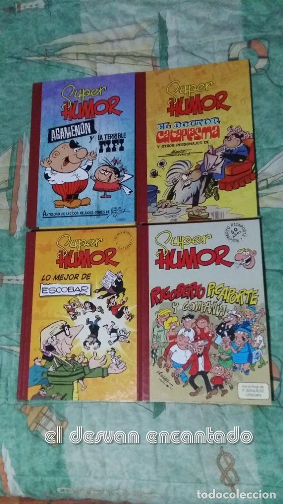 SUPER HUMOR. 4 TOMOS. AGAMENON-RIGOBERTO-DR. CATAPLASMA-ESCOBAR. NUEVOS (Tebeos y Comics - Ediciones B - Humor)