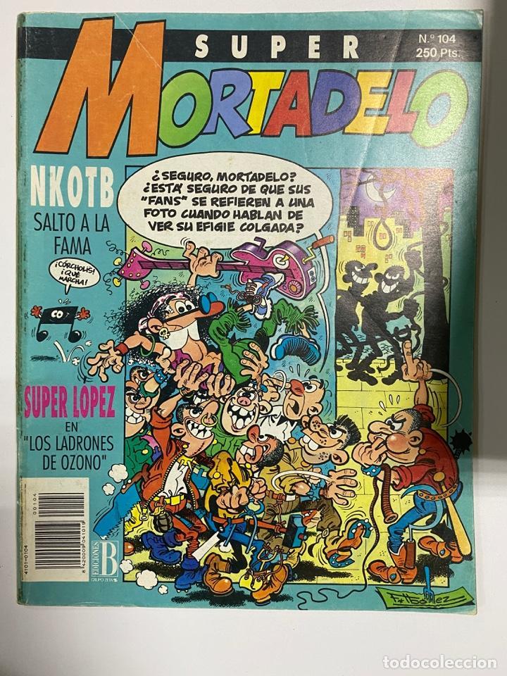 SUPER MORTADELO. Nº 104. KNOTB SALTO A LA FAMA. EDICIONES B. (Tebeos y Comics - Ediciones B - Clásicos Españoles)
