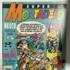 Comics : SUPER MORTADELO. Nº 104. KNOTB SALTO A LA FAMA. EDICIONES B.. Lote 242044820