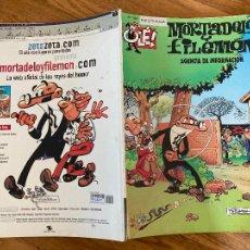 Cómics: ¡LIQUIDACION! PEDIDO MINIMO 5 EUROS - OLÉ! MORTADELO Y FILEMON Nº 106 - EDICIONES B - GCH. Lote 242086185
