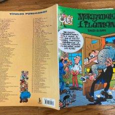 Comics : ¡LIQUIDACION! PEDIDO MINIMO 5 EUROS - OLÉ! MORTADELO Y FILEMON Nº 119 - EDICIONES B - GCH. Lote 242086710