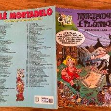 Comics : ¡LIQUIDACION! PEDIDO MINIMO 5 EUROS - OLÉ! MORTADELO Y FILEMON Nº 124 - EDICIONES B - GCH. Lote 242086965