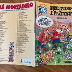 Comics : ¡LIQUIDACION! PEDIDO MINIMO 5 EUROS - OLÉ! MORTADELO Y FILEMON Nº 137 - EDICIONES B - GCH. Lote 242087585
