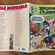 Comics : ¡LIQUIDACION! PEDIDO MINIMO 5 EUROS - OLÉ! MORTADELO Y FILEMON Nº 146 - EDICIONES B - GCH. Lote 242088120