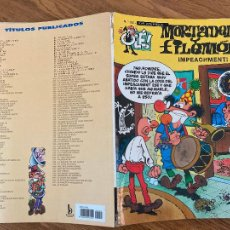 Comics : ¡LIQUIDACION! PEDIDO MINIMO 5 EUROS - OLÉ! MORTADELO Y FILEMON Nº 150 - EDICIONES B - GCH. Lote 242088280