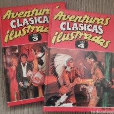 Cómics: AVENTURAS CLASICAS ILUSTRADAS TOMO 3 Y 4. Lote 49447181