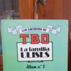 Cómics: TBO - LA FAMILIA ULISES ALBUM N°2 EDICIONES B 1° EDICION 1991. Lote 242877755