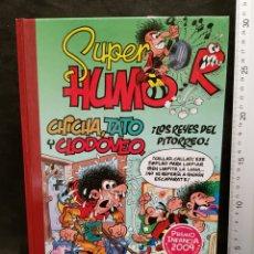 Fumetti: SUPER HUMOR CHICHA, TATO Y CLODOVEO, ¡LOS REYES DEL PITORREO! NR. 49. ED. B. 1.ª EDICIÓN. AÑO 2010. Lote 243212480