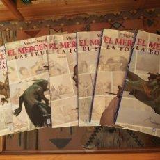 Cómics: * EL MERCENARIO * COMPLETA 6 TOMOS EDITADOS POR EDICIONES B 1993 * SEGRELLES * CARTONE *. Lote 243634850